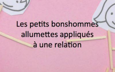 Les petits bonshommes allumettes de Jacques Martel