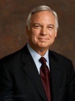 Jack Canfield photographic portrait on canvas