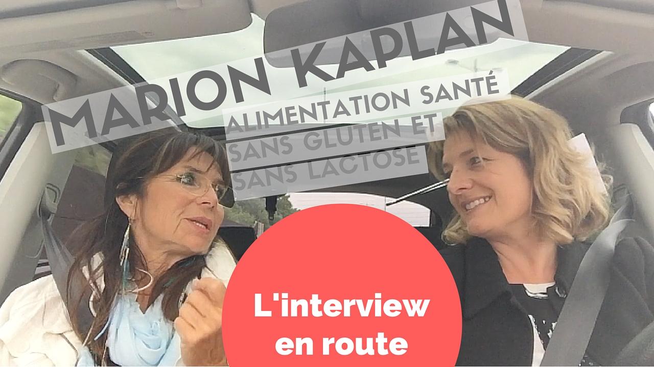 J'ai testé l'interview en voiture avec Marion Kaplan