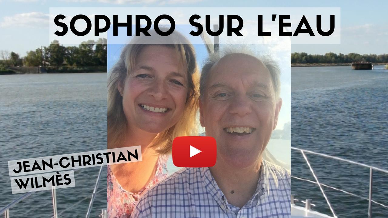 Sophro sur l'eau : la sophrologie qui baigne