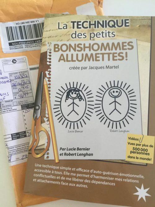 La technique des petits bonshommes allumettes par Lucie Bernier et Robert Lenghan