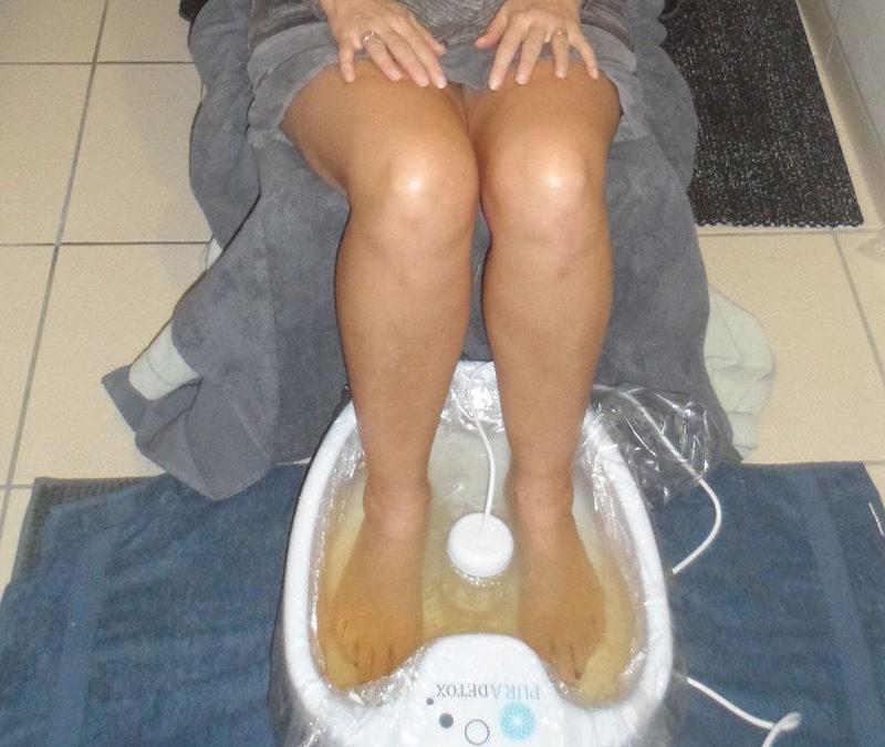 J'ai testé le bain de pieds Pura Détox