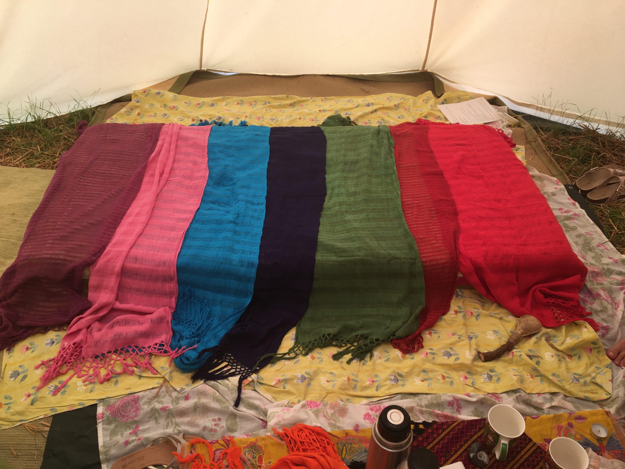 rebozo foulards