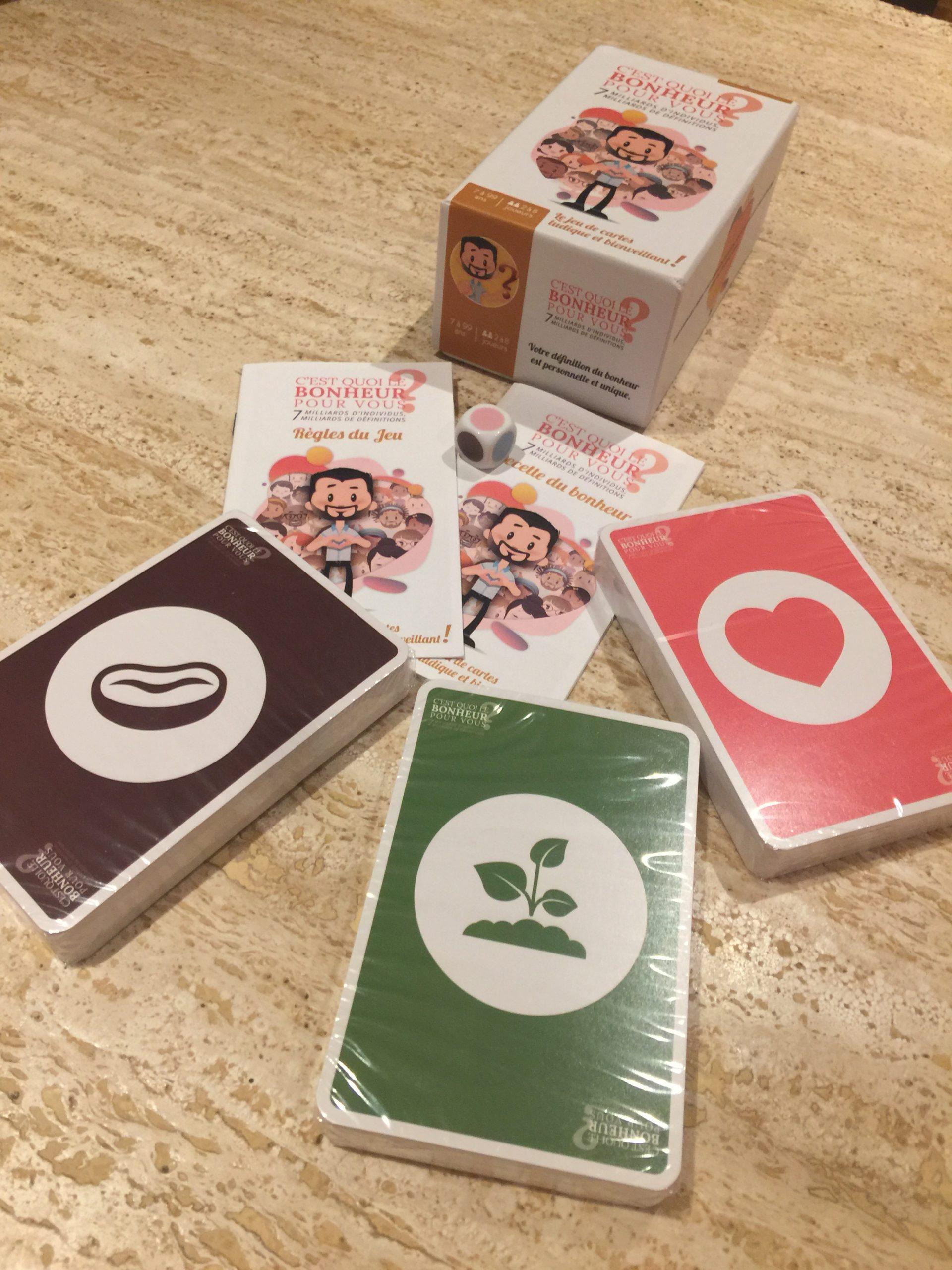 bonheur cartes