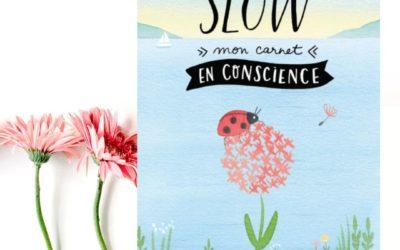 Slow – mon carnet en conscience par Clélia Felix et Nathalie Ouederni